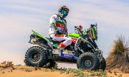 Casale empezó con el pie derecho el Dakar 2018