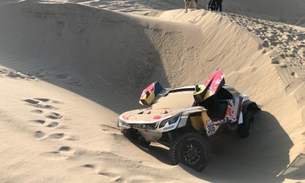 Sebastien Loeb abandona el Dakar 2018 por problemas físicos de su copiloto