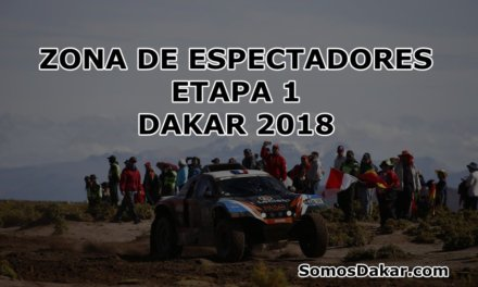 Dakar 2018: Zona de Espectadores de la Etapa 1