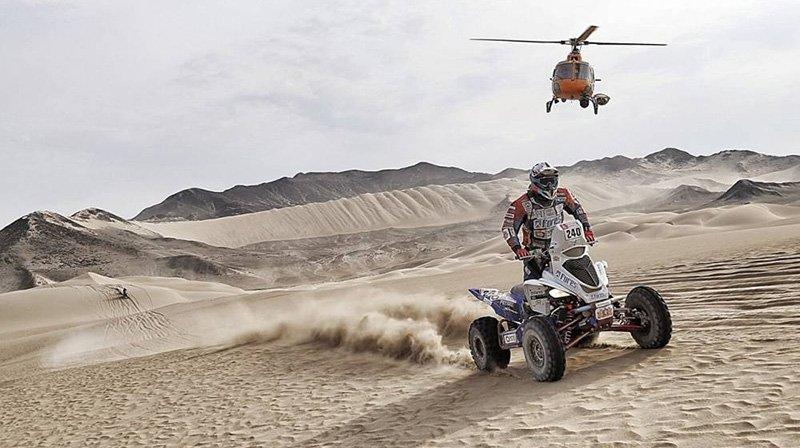Cavigliasso conquistó la quinta etapa del Dakar