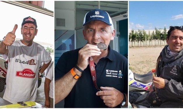 Los tres pilotos Somos Dakar finalizaron el Dakar 2018