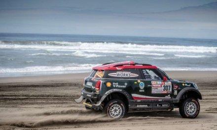 Orlando Terranova abandona el Dakar 2018 en la altura