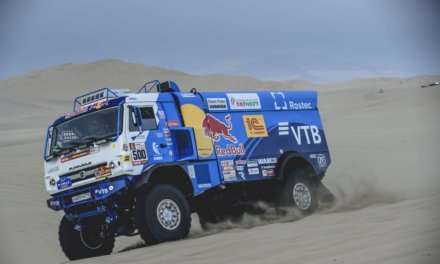 Nikolaev se lleva la segunda etapa del Dakar 2018