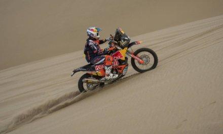 Sam Sunderland abandonó el Dakar 2018