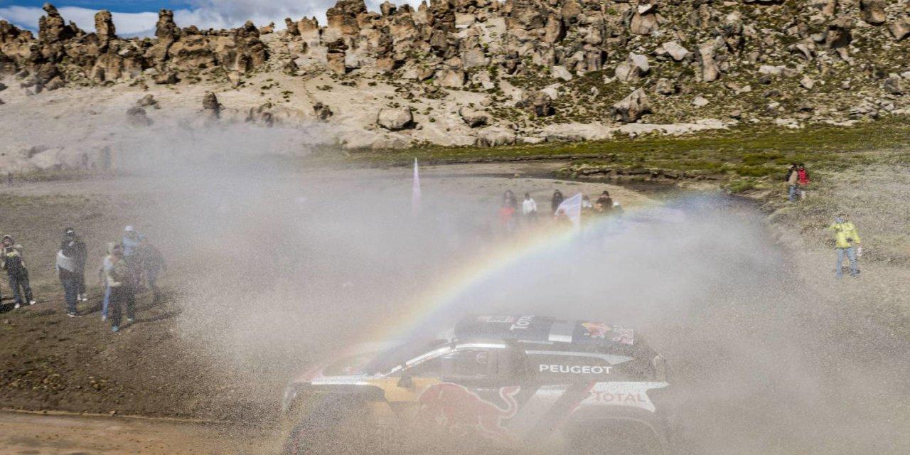 Carlos Sainz triunfó en la llegada a Bolivia