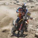 Matthias Walkner toma el liderazgo del Dakar 2018 en una dramática etapa