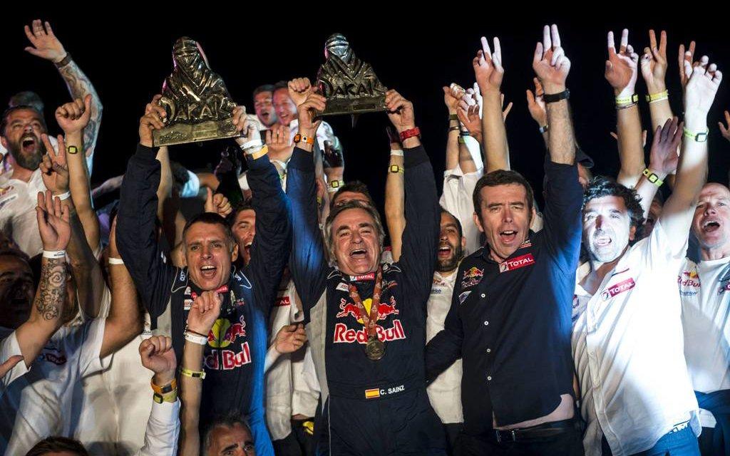 Las mejores fotos del podio del Dakar 2018