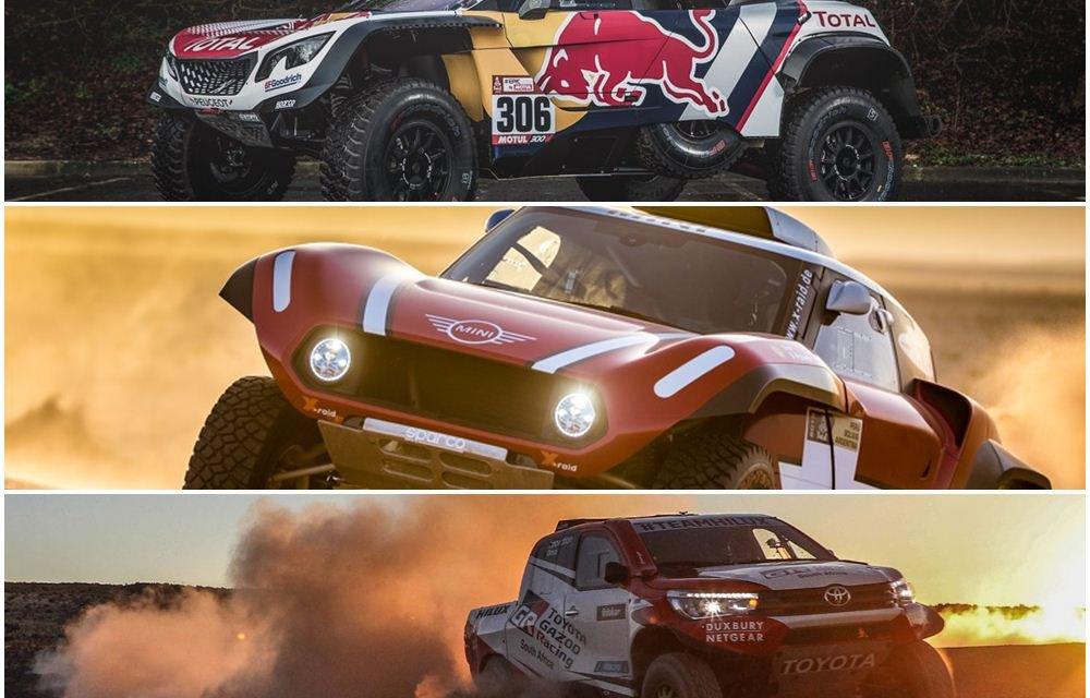 Previa Dakar 2018: La triple batalla final en autos