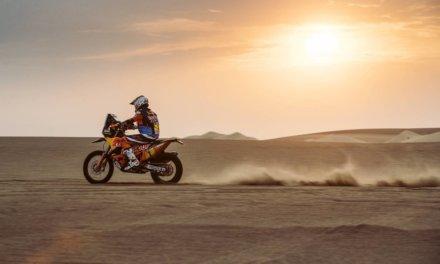 Sunderland triunfó en la tercera jornada Dakar 2018