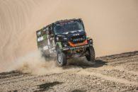 Villagra logró su primer triunfo en el Dakar 2018