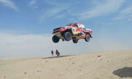 Dakar 2018: Al Attiyah se impuso en la etapa 1