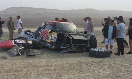 Bryce Menzies y un accidente que destruyó su Buggy by MINI
