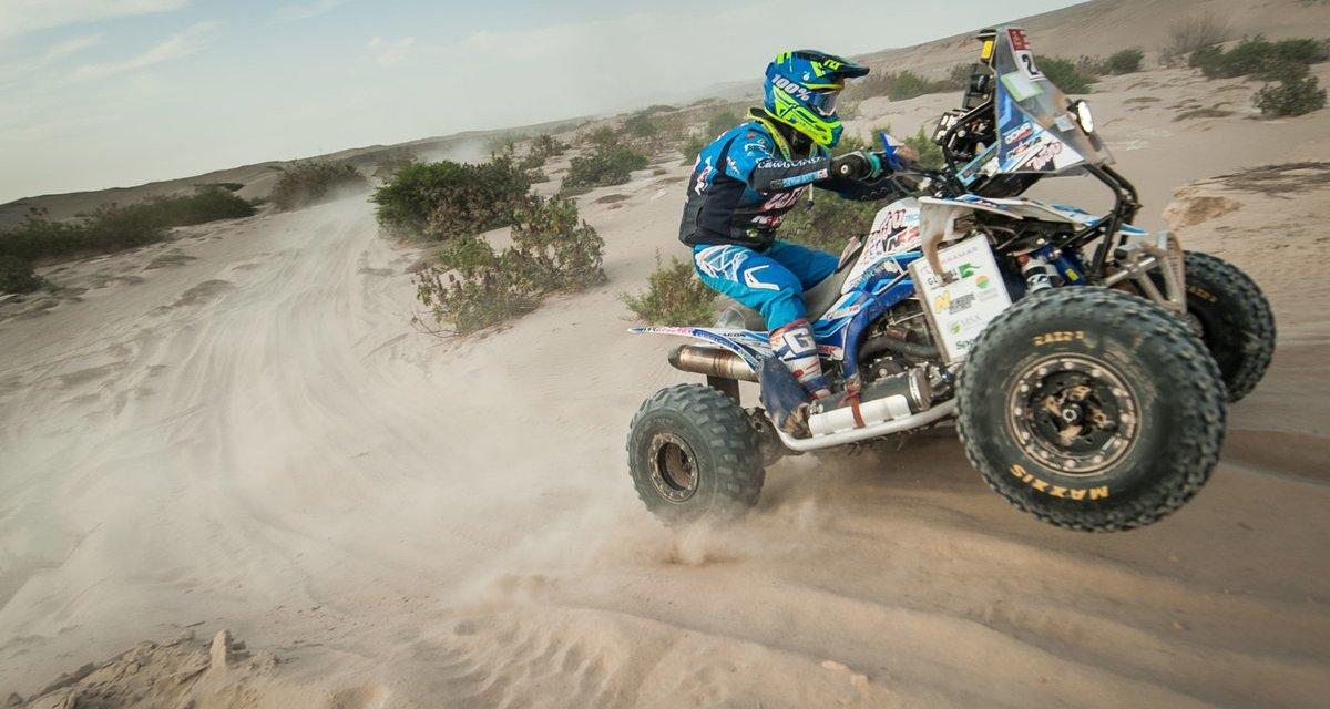 Cavigliasso no para: ganó su tercera etapa en el Dakar 2018