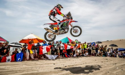 Barreda Bort comenzó su sueño de ganar el Dakar 2018 en la etapa 2