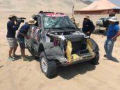 Así fue el accidente de Nani Roma en la tercera etapa del Dakar 2018