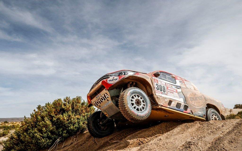 Ten Brinke gana su primera etapa en el Dakar 2018