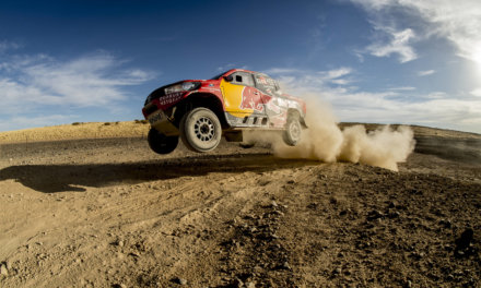 Presentación Toyota Hilux – Dakar 2017