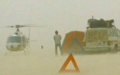 La brutal tormenta de arena durante el Dakar 1983 en África