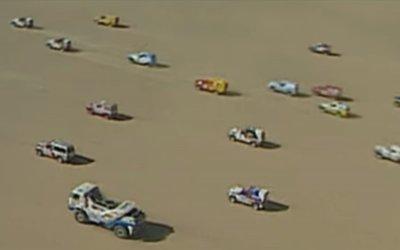 La largada masiva del Dakar 1987: el mejor homenaje a Thierry Sabine