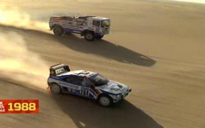 Un zapping por los 40 años del Rally Dakar