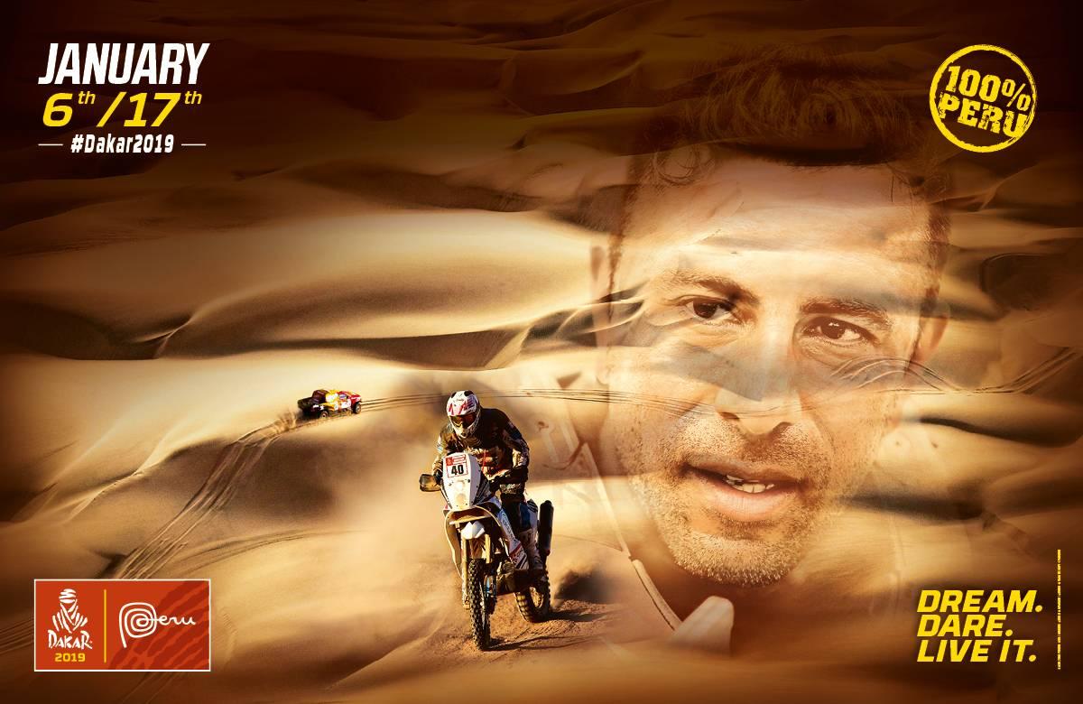 Presentaron el recorrido oficial del Dakar 2019