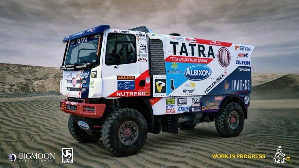 Fotos y videos: El videojuego del Rally Dakar cada vez más cerca