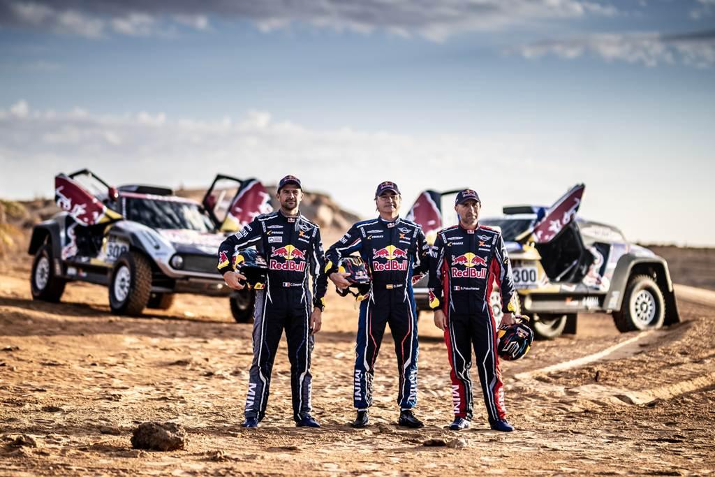 Carlos Sainz, Despress y Peterhansel correrán el Dakar 2019 para MINI