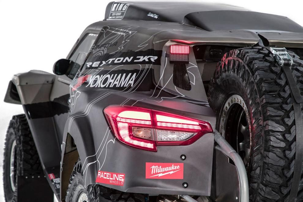 SsangYong presentó su espectacular Rexton DKR para el Dakar 2019