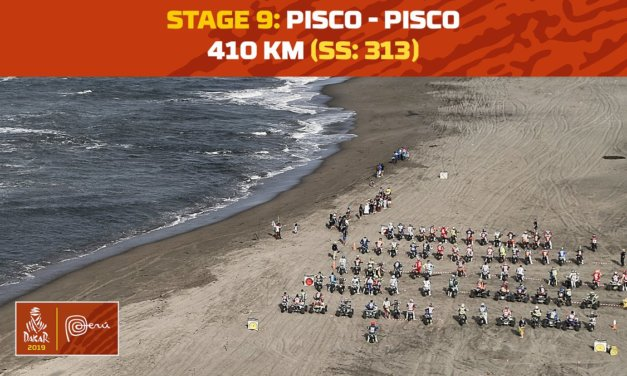El recorrido de la etapa 9 – Dakar 2019