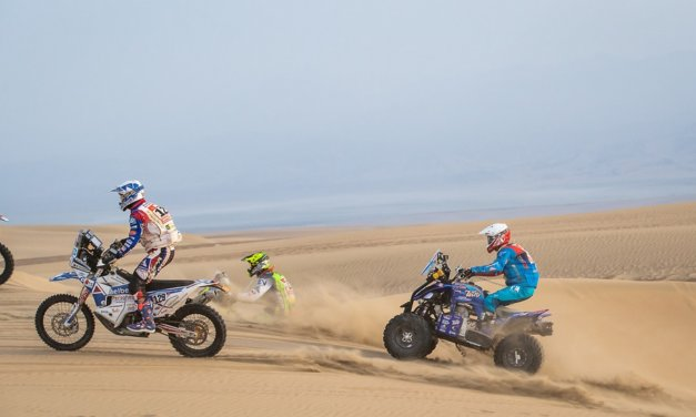 Cavigliasso se lleva otra especial tras ayudar a un competidor – Resumen Quads – Etapa 9 – Dakar 2019