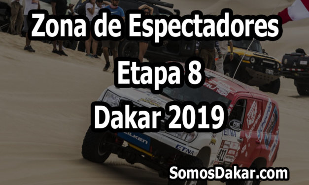 Zona de espectadores – Etapa 8 – Dakar 2019