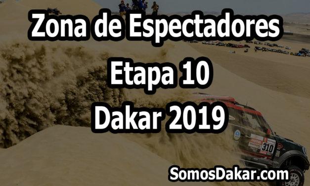 Zona de espectadores – Etapa 10 – Dakar 2019