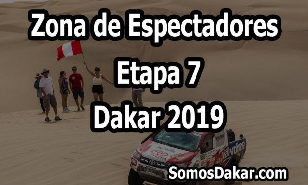 Zona de espectadores – Etapa 7 – Dakar 2019