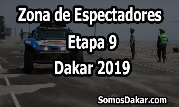 Zona de espectadores – Etapa 9 – Dakar 2019