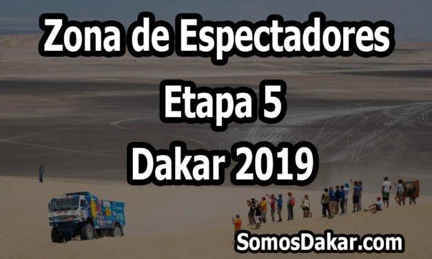 Zona de espectadores – Etapa 5 – Dakar 2019