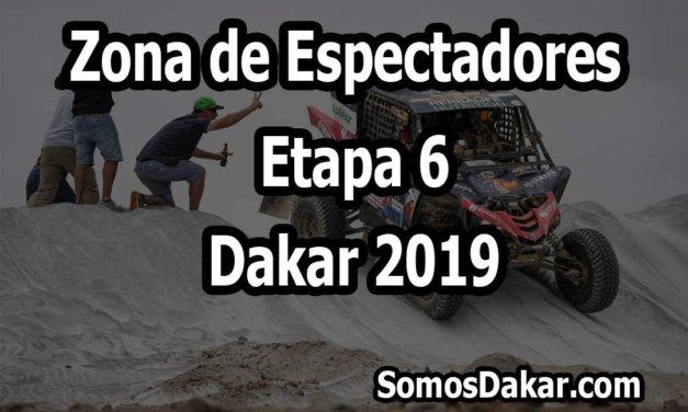 Zona de espectadores – Etapa 6 – Dakar 2019