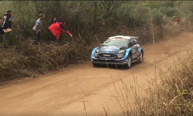 Videos: las pasadas de los WRC en el Rally de Argentina 2019