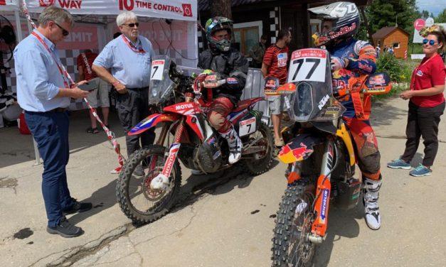 Los hermanos Benavides dominaron la etapa 1 del Silk Way Rally