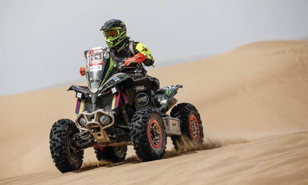 """Nicolás Robledo: """"Será la última carrera con este quad antes del Dakar 2020"""""""