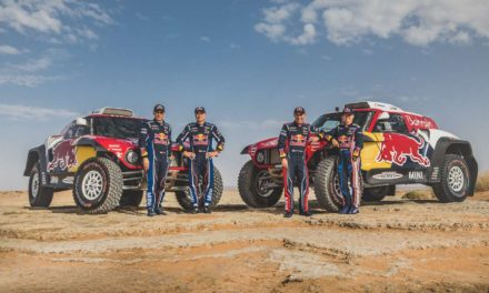 Video y galería: Mini confirmó a Carlos Sainz y a Stephane Peterhansel para el Dakar 2020
