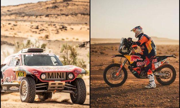 Carlos Sainz y Toby Price dominan el tercer día del Rallye Du Maroc