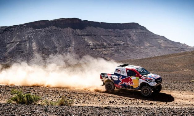 De Villiers se quedó con la victoria final en el Rallye Du Maroc