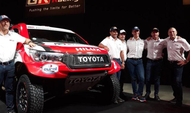 Oficial: Toyota presentó a Fernando Alonso para el Dakar 2020