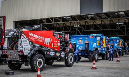 Galería: los vehículos embarcando rumbo al Dakar 2020