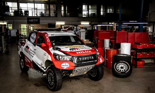 Toyota Gazoo Racing presenta cuatro duplas para el Dakar 2020