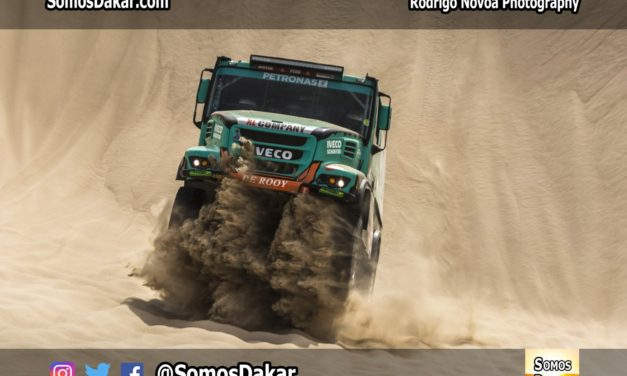 Sin de Rooy ni Villagra, Iveco dará pelea en el Dakar 2020