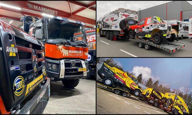 Los equipos europeos se concentran en Marsella rumbo al Dakar 2020
