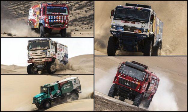 Previa Dakar 2020 – Camiones: los gigantes tendrán una nutrida pelea de marcas
