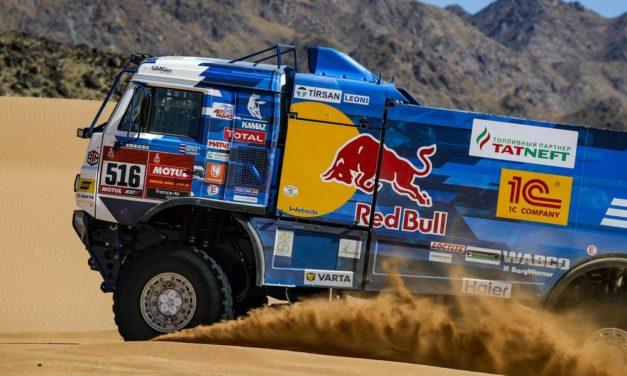 Shibalov le da la victoria a Kamaz en la etapa 1, con Viazovich muy cerca – Resumen Camiones