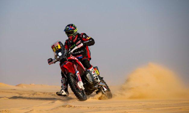 Joan Barreda encabeza el trío de Honda en la etapa 10 – Resumen motos – Dakar 2020